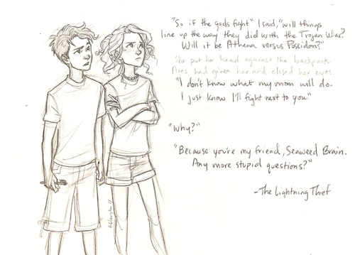 because youre my friend - the-heroes-of-olympus Fan Art