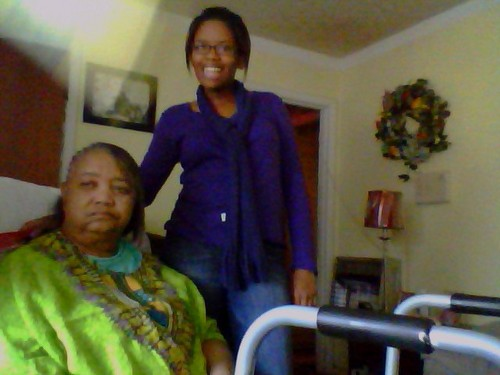 courtney and granny