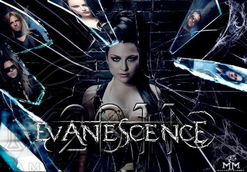 Evanescence wallpaper probably containing anime called evanescence2011