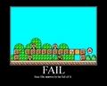 fail in mario