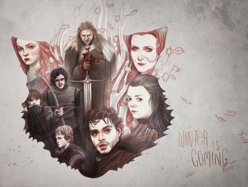 game of thrones Фан art