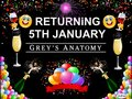 greys celebrate 5th jan return