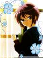 haruhi suzumaya - anime fan art