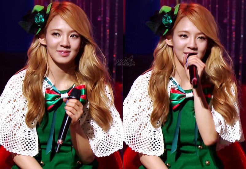hyoyeon SNSD Christmas Fairy Tale Captures