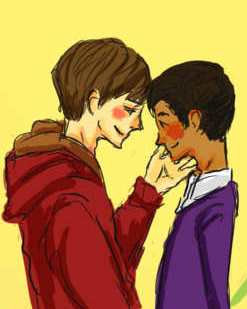 justin and austin first KISS