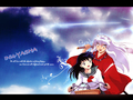 kagome & inuyasha - inuyasha-and-kagome-forever wallpaper