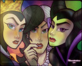 lady villians - classic-disney fan art