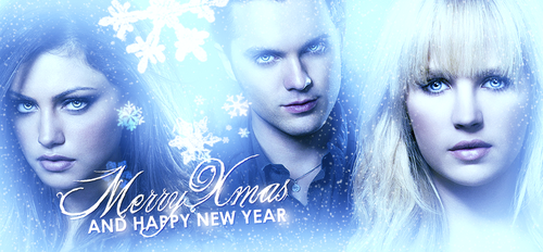 merry christmas and a happy new year - the-secret-circle-couples Fan Art