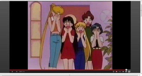 photoscaped चित्रो of sailor scouts