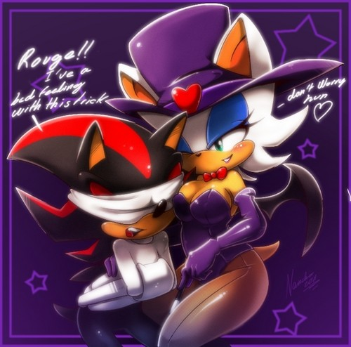 rouge and shadow magic 表示する
