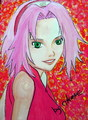sakura Haruno - anime fan art