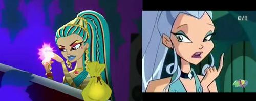 shocking similarities