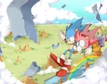 sonic and amys good future - sonamy photo