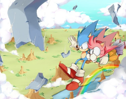 sonic and amys good future