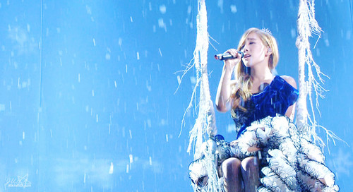 taeyeon @mbc christmas special