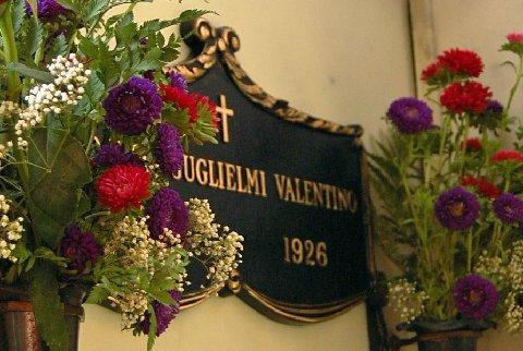 valentino grave