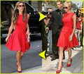 victoria in red - victoria-beckham photo