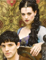 x Merlin and Morgana x