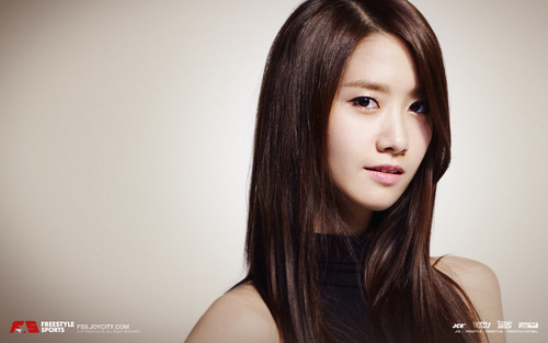 S♥NEISM wallpaper containing a portrait entitled yoona SNSD - FreeStyle Sports Wallpapers