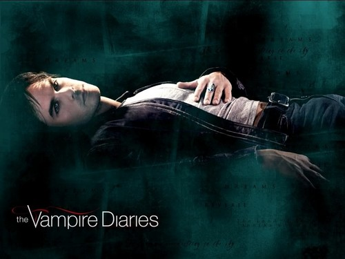 Damon Salvatore wolpeyper titled yummy
