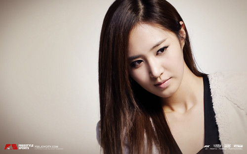 S♥NEISM wallpaper with a portrait entitled yuri SNSD - FreeStyle Sports Wallpapers