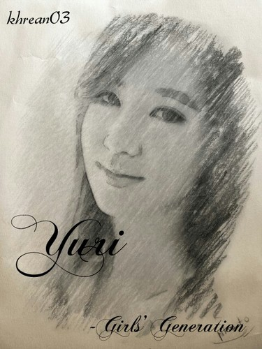 yuri sketch - yuri-black-pearl Fan Art