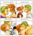 zoro and nami - nami-and-zoro fan art