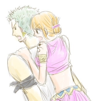 zoro nami in love