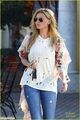 [December 30th] Visiting Le Pain Bakery - alyson-michalka photo