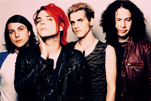 chemical romance love bands