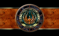 «The Emblem of Battlestar GALACTICA»  - battlestar-galactica wallpaper
