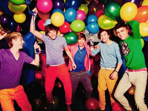 One Direction wallpaper probably containing a meteorological balloon and an easter egg entitled :)