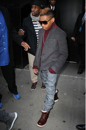 Prodigy (Mindless Behavior) वॉलपेपर possibly containing a business suit and a bowling shoe called (: