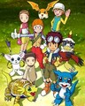 Adventures 02 Characters - digimon photo