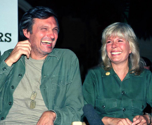 Alan Alda and Loretta Swit