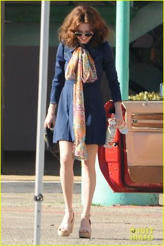Amanda Seyfried: 'Lovelace' in Long Beach!