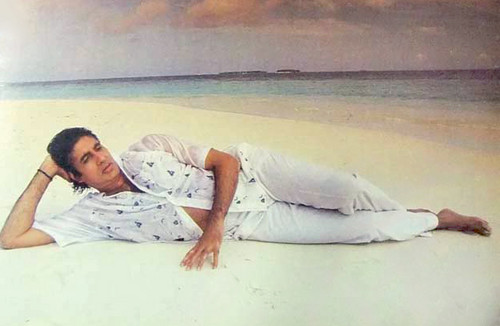 Bollywood wallpaper called Amitabh Bachchan In spiaggia