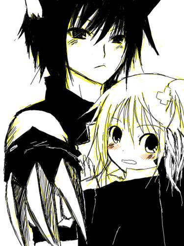 Amu and Ikuto :)