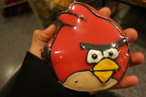 Angry Birds খাবার