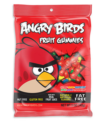 Angry Birds pagkain