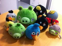 Angry Birds Stuffed জন্তু জানোয়ার