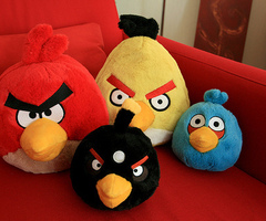 Angry Birds Stuffed animali