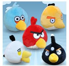 Angry Birds wallpaper called Angry Birds Stuffed Animals