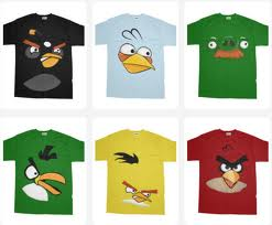 Angry Birds karatasi la kupamba ukuta possibly with a stained glass window called Angry Birds T-Shirts