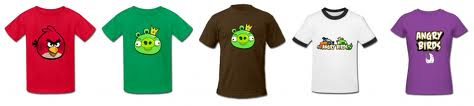 Angry Birds T-Shirts