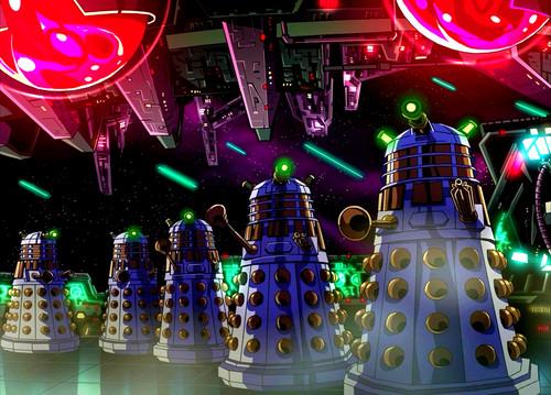 Anime Daleks