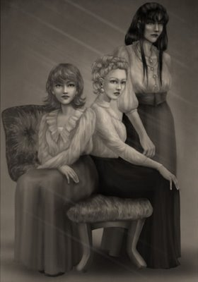 BLACK SISTERS - Bellatrix Lestrange Fan Art (28012724 ...