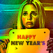 BUFFY SUMMERS HAPPY NEW YEAR'S ICON♥