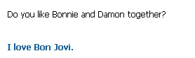 Damon & Bonnie wallpaper possibly with a venn diagram and a portrait called Bamon Stupid Cleverbot