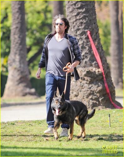 Ben Affleck: Morning Dog Jog!
